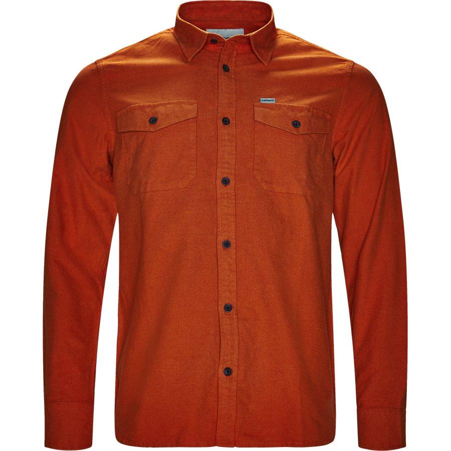 L/S VENDOR I023340 - L/S VENDOR - Skjorter - Regular fit - PERSIMMON HEATHER - 1
